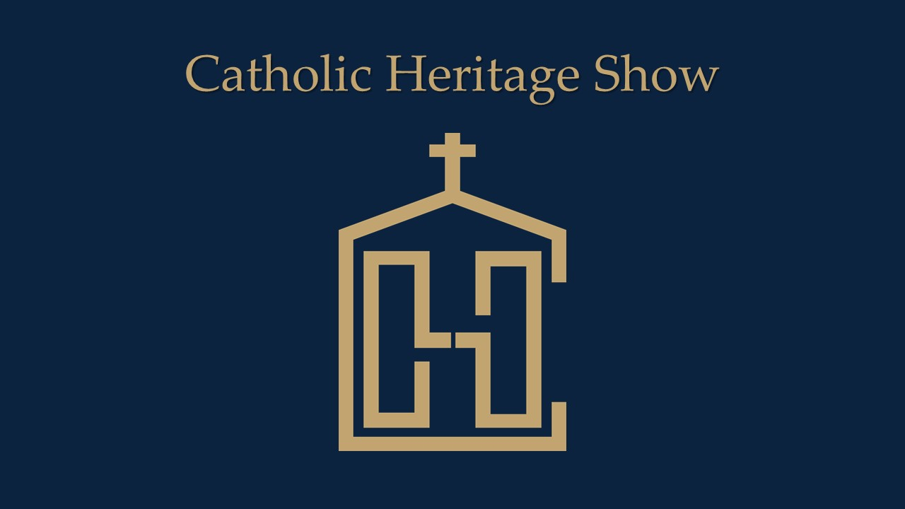 An image of the CHS logo; the purpose of the logo is to represent the Catholic Heritage, LLC.
